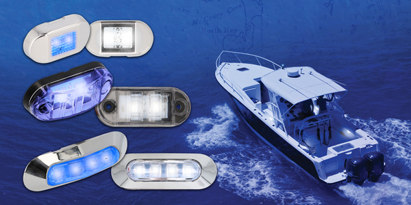 Metra Marine Accent Lights at IBEX
