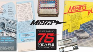 Metra Display at SEMA, Celebrates 75 Years